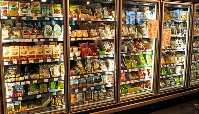 便利な冷凍食品